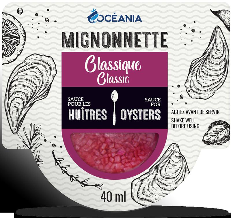 Mignonnette - sauces aux huitres Classique