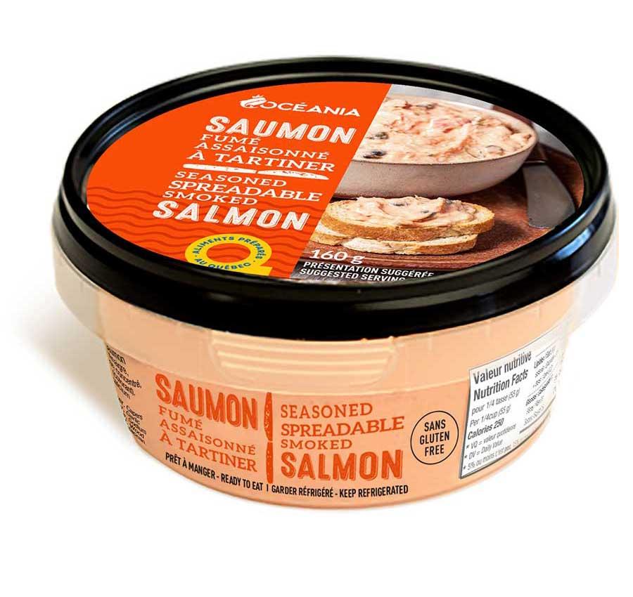 Oceania Tartinade au saumon