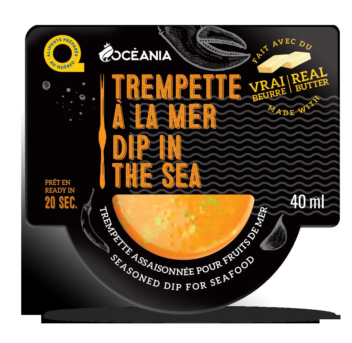 Trempette de mer - dip in the sea